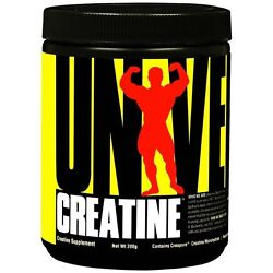 Universal 200g Micronized CREATINE Powder 40 Servings BUILD MUSCLE $11.95