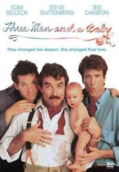 THREE MEN AND A BABY NEW DVD $7.96