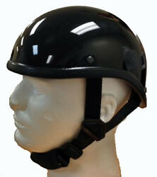 Gladiator Novelty Gloss Black Motorcycle Half Helmet Cruiser Biker SMLXLXXL