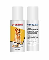 Two Citronella Training No Bark Canisters 6.2 ounces Refill Value Pack $19.99