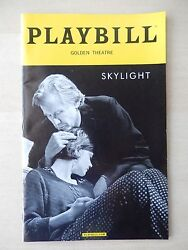 March 2015 - Opening Night - Golden Theatre Playbill - Skylight - Mulligan