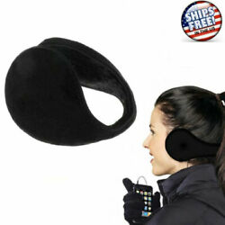 Ear Muffs Warmers Fleece Winter Ear Earwarmer Mens Womens Behind the Head Band