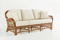 Rattan Man Antigua Indoor Wicker Sofa from American Rattan