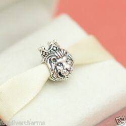 * New Authentic Pandora King of the Jungle 791377 Lion Zoo Charm $28.99