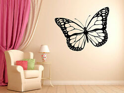 Exotic Butterfly Vinyl Wall Decal Graphics 12quot;x20quot; Small Bedroom Home Decor $13.99