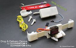 Drop amp; Delivery device for DJI Phantom 4 amp; Pro for rescue and drone fishing $130.00