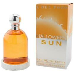 HALLOWEEN SUN Women by J DEL POZO 3.4 oz 3.3 New in Box Sealed $24.13