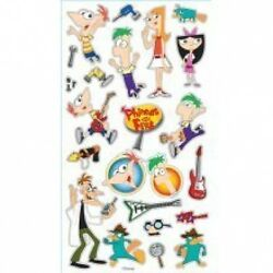 EK Success Classic Stickers Phineas and Ferb #558 $2.99