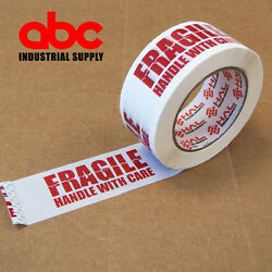 1 Roll Fragile Marking Tape Handle w Care Shipping Packing 2.0 mil 330#x27; $5.99