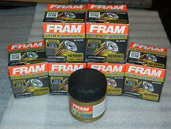 (6) BRAND NEW (OPEN BOX) FRAM XG10060 ULTRA SYNTHETIC ENGINE OIL FILTERS