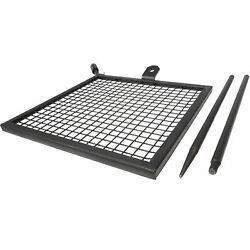 Titan Adjustable Swivel Grill Campfire Cooking Grate  40