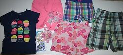 Lot of 11 summer girls items clothes amp; hair accesories $8.99