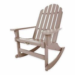 Weatherwood Durawood Outdoor Patio Porch Pool Adirondack Rocking Rocker Chair
