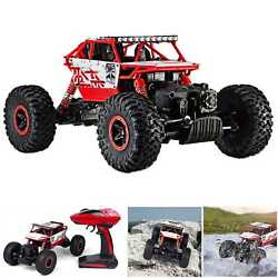4WD RC Monster Truck Off Road Vehicle 2.4G Remote Control Buggy Crawler Car Red $24.98