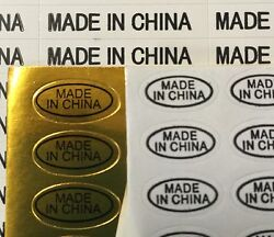 Made in China Mini Business Self Adhesive White Stickers Tags Labels Lot $179.99