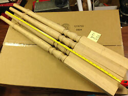 16 - Red Oak Stair Spindles Balusters Tappered 40
