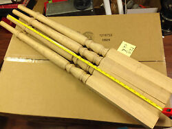 32 - Red Oak Stair Spindles Balusters Tappered 40
