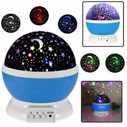 Projector Night Light LED Star Master Sky Lamp Romantic Cosmos Christmas Gift $8.89