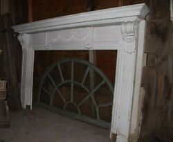 Spectacular Massive Fireplace Mantel Mantle #2 from NY Mansion Palace