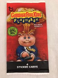 WHITE Border Unopened Pack GPK Garbage Pail Kids Flashback Series 2 dollar tree $4.99