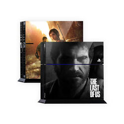 Skin Sticker Cover For PS4 Tuning Mapping Elaborated POP SKIN Last of Us #04
