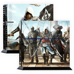 Skin Sticker Cover For PS4 Tuning Mapping Elaborated POP SKIN Assassins #02