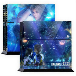 Skin Sticker Cover For PS4 Skin Tuning Mapping Elaborated POP SKIN FFX #01
