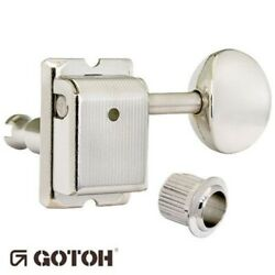 NEW Gotoh SD91 05M STAGGERED Post Vintage Tuners for Fender Strat Tele NICKEL $39.95