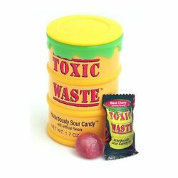 1 Drum Toxic Waste Ultra Sour Candy Assorted Flavors Free Ship $5.95