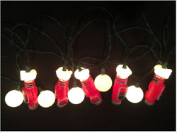 Kurt S. Adler 10-LIGHT GOLF Lighted Decoration Indoor Outdoor UL4013 NEW Wow!