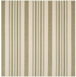 Safavieh Courtyard Collection CY7062-234A18 Beige And Green Indoor Outdoor Rug