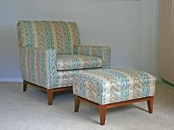 Mid century modern Paul McCobb Directional lounge chair and ottoman knoll eames