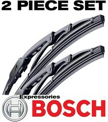 BOSCH Wiper Blades Direct Connect Size 24 & 18 - Front Left and Right Set New $17.88