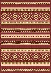 RED OUTDOOR RUG LARGE 8X11 [7' 10