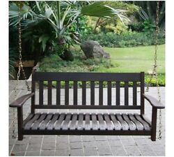 Better Homes & Gardens Delahey Outdoor Porch Swing Brown - FREE SHIPPING*