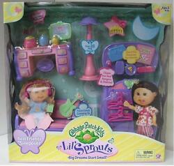 Cabbage Patch KIds (CPF) Lil Sprouts Best Friends Sleepover MIB NRFB