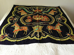 Hermes 9 pieces of Shawl Scarf 140X140cm