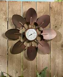 SHOVEL Oversized Rustic Garden Thermometer Shed Garage Outdoor Home Decor New