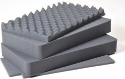 Pelican 1535 Air replacement foam set. Upgraded 4 piece set. $42.00