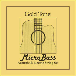 Gold Tone MBS Aquila Thunderguts RubberPolymer strings for Microbass
