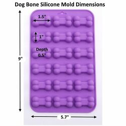 Mini Bone Pet Dog Paw Silicone Soap mold Candy Chocolate Fondant Tray ICE Cube