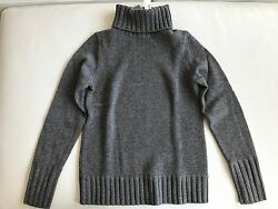 NWT J. Crew COLLECTION CASHMERE CHUNKY TURTLENECK SWEATER SMALL $298
