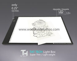Tat Tech Tattoo Stencil Tracing Light Box A3 (12