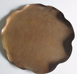 Art Deco Copper Platter