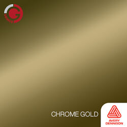 gold vinyl roll chrome avery dimensions 48