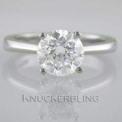 Diamond Solitaire Ring 2.50ct Certified D Exc Exc Exc Brilliant 18ct White Gold