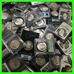 ✯Estate Coin Lot US Morgan Silver Dollar ✯1 PCGS or NGC UNC ✯ O S P CC Mint✯ $77.50