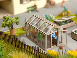 Noch 14357 HO L-C Greenhouse (Laser Cut Minis Kit) # NEW ORIGINAL PACKAGING #