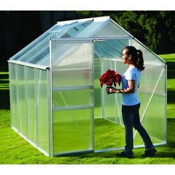Harbor Freight Greenhouse Small Polycarbonate 6 Feet X 8 Feet Sliding Door Vent