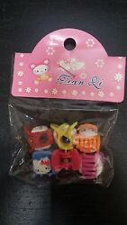 Hello Kitty hair accessories pack of 6 $2.99